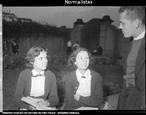 Foto de normalistas do Instituto de Educação do Rio de Janeiro, Julho de 1953.